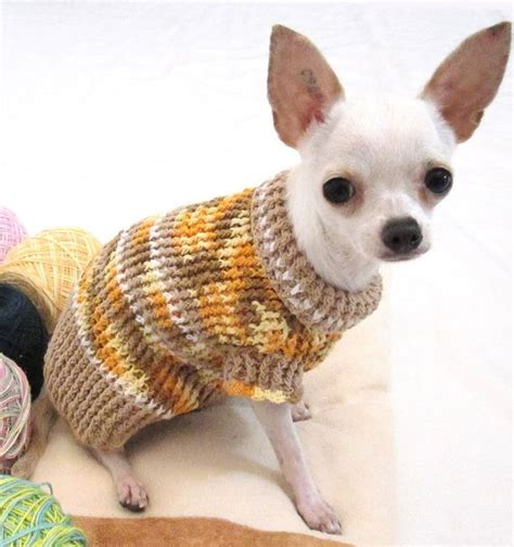 knitting pattern for chihuahua jumper rustic sweater chihuahua jumper puppy handmade crochet