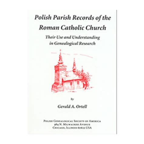 Catholic Church Marriage Records Parish Records Of The Catholic Church Genealogical Society Of