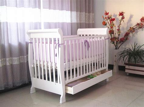 Solid Wood Nursery Furniture Sets Babies Baby Bed