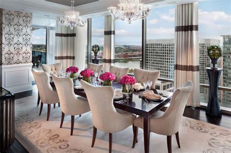 Formal Dining Room Drapes by S 233 Jour Amp Salle 224 Manger Design Feria