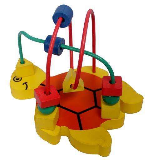 Mainan Alur Kawat Rumah Kelinci alur kawat 2 karakter kecil kura kura mainan kayu