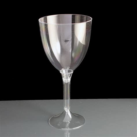 acrylic barware large 2 piece plastic wine glasses