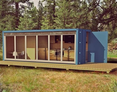 small shipping container homes container home