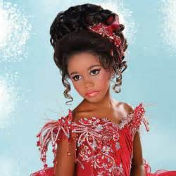 black pageant hairstyles pageant hairstyles for little girls