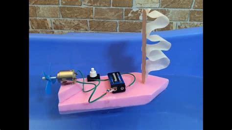 Yasma Elektrik ev yap箟m箟 tekne oyuncak tekne nas箟l yap箟l箟r