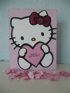 a scrapping mom s scraps hello kitty birthday card