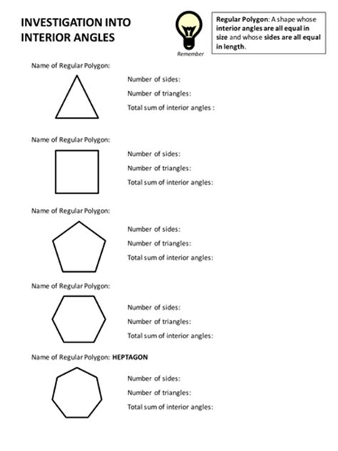 shapes worksheets ks3 search teaching resources tes