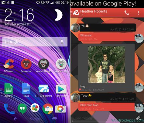 themes for android project project hera launcher theme v1 81 apk