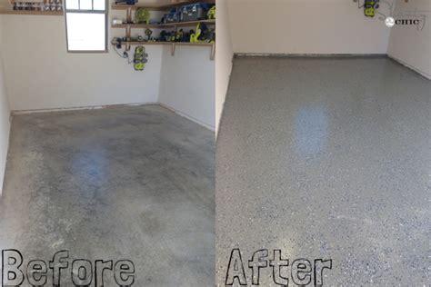 Garage Floor Paint Before And After Garage Floor Coating To Make The Floor Look Home