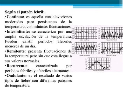 oscilacion temperatura corporal fiebre dx