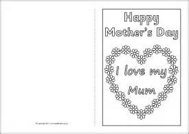mother s day card colouring templates sb4359 sparklebox