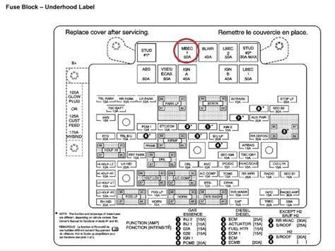 2004 Chevy Silverado Fuse Box Diagram Wiring Forums