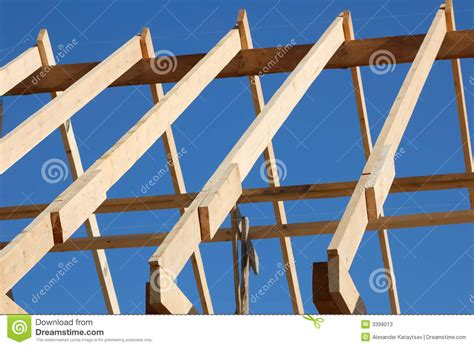 build an a frame build the roof stock photos image 3399013