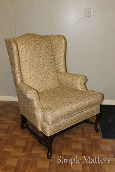 Gold Wing Back Chairs by Gold Wing Back Chair