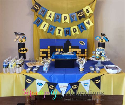 batman theme decorating ideas batman theme birthday birthday ideas photo 1