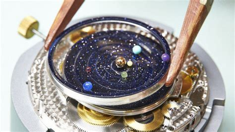 The Watch With A Real Time Solar System Inside   Geekologie