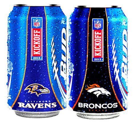 bud light football cans bud light kicks off nfl team logo packaging packaging digest