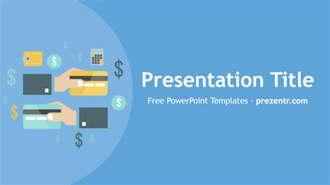 Credit Card Powerpoint Template by Free Credit Cards Powerpoint Template Prezentr