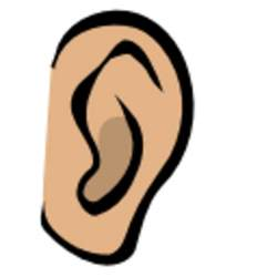 ear free images at clker vector clip