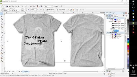 tutorial design baju kaos tutorial desain grafis coba2 buat desain kaos dengan