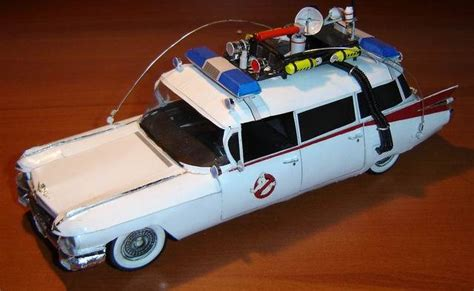 Paper Craft Model - ghostbusters car paper model 171 papercraft models papercraft