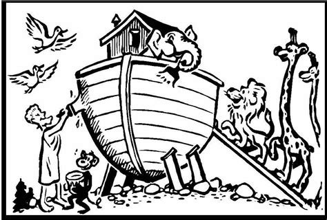 coloring book pages of noah s ark noah ark coloring pages to download and print for free
