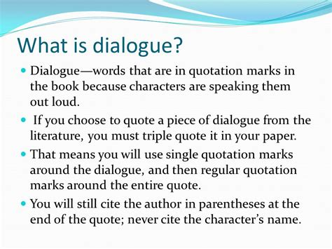 how to write a quote in a paper how to quote dialogue in an essay exle exle essay