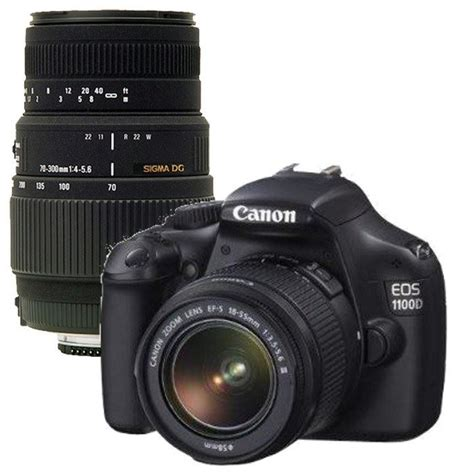 Canon Eos 1100d Efs 18 55mm Canon 1100d Ef S 18 55mm Is Sigma 70 300mm Canon Pickture