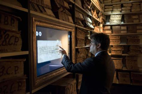 fondazione banco napoli nasce ilcartastorie museo multimediale dell archivio