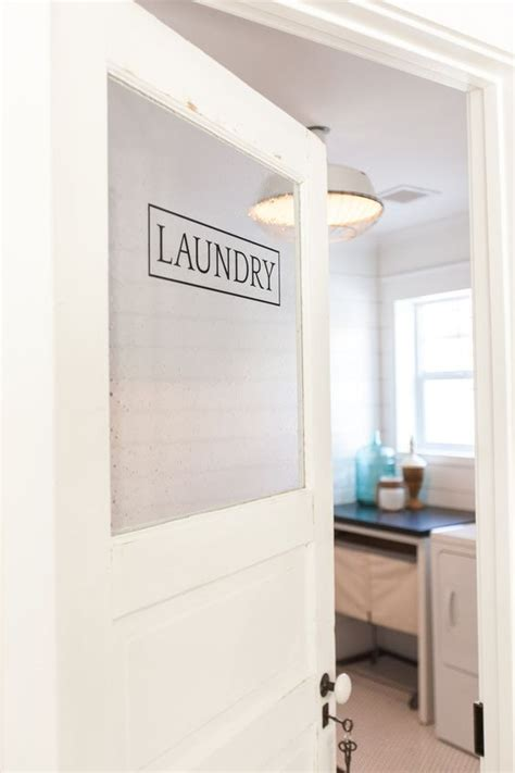 door laundry eclectic home tour rafterhouse