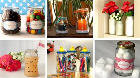 decorar vasos de vidrio para regalar frascos de vidrio reciclados ideas bonitas y diferentes
