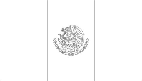 Mexican Flag Color Page coloring page mexican flag 171 free coloring pages