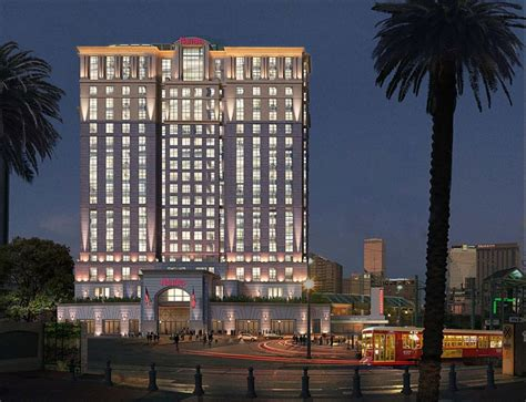 harrah s hotel new orleans front desk hard rock announces plans for canal street hotel
