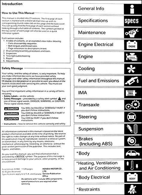 car repair manuals online free 2003 honda civic free book repair manuals 2003 honda civic hybrid repair shop manual original