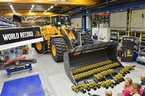 As Pompa By Klender Tehnik lego loaders celebrate anniversary with record
