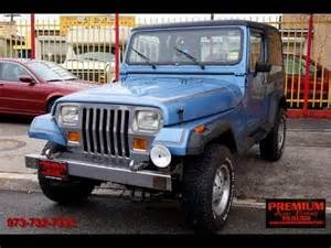 1989 Jeep Wrangler Reviews 1989 Jeep Wrangler Laredo Yj 4x4 Amc