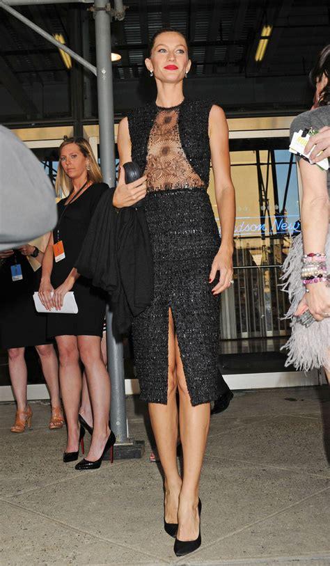 Gisele Bundchen Pops To Launch Footwear Range by Gisele Bundchen Bright Lipstick Gisele Bundchen Looks