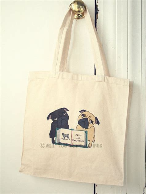 pugs and prejudice 17 best images about book bags worth noticing on bags laptop bags and