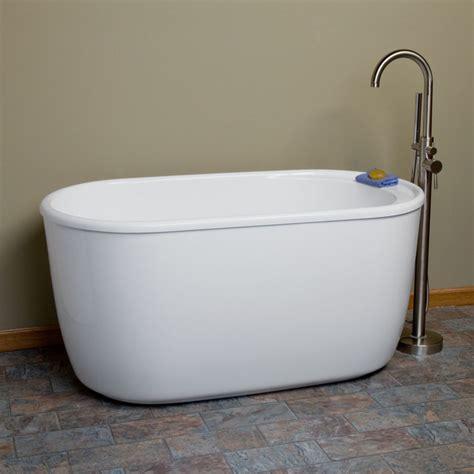 55 inch bathtub 55 quot vada acrylic soaking tub contemporary bathtubs