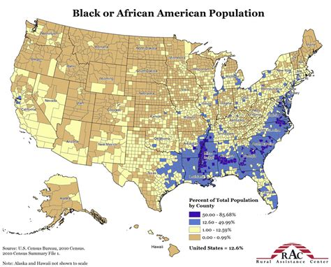 demographic map of the united states map of black population in usa free printable maps