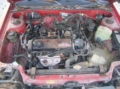 Toyota Tercel Engine Toyota Tercel 1 5l 4 Used Of The 1989 At 77073 Tx