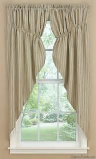 Country Swag Curtains Millstone Lined Gathered Window Curtain Swag