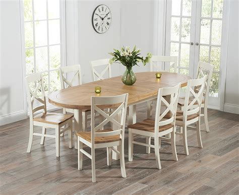 Oval Extending Dining Table And Chairs Buy Harris Cheyenne Oak And Oval Extending Dining Table With 6 Cavanaugh Chairs