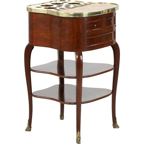 liquor table french louis antique liquor table cabinet escalier de