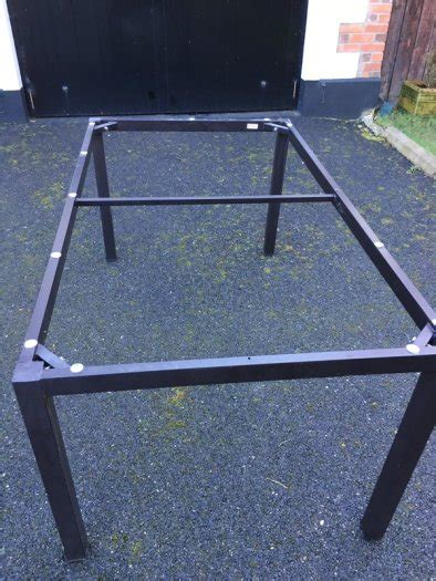 metal dining table base only ikea ammere metal table base only for sale in enfield