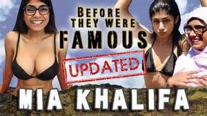 Mia khalifa before they were famous updated vex radio