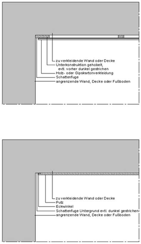 schattenfuge trockenbau schattenfuge frag den architekt