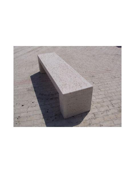 panchine in cemento prezzi panchina rettangolare monoblocco in cemento grigio