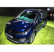 Tata Hexa Crossover Production Version Unveiled In India