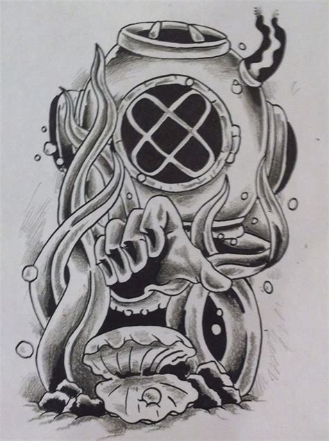 diving tattoos designs 1000 images about mk five sea diver on